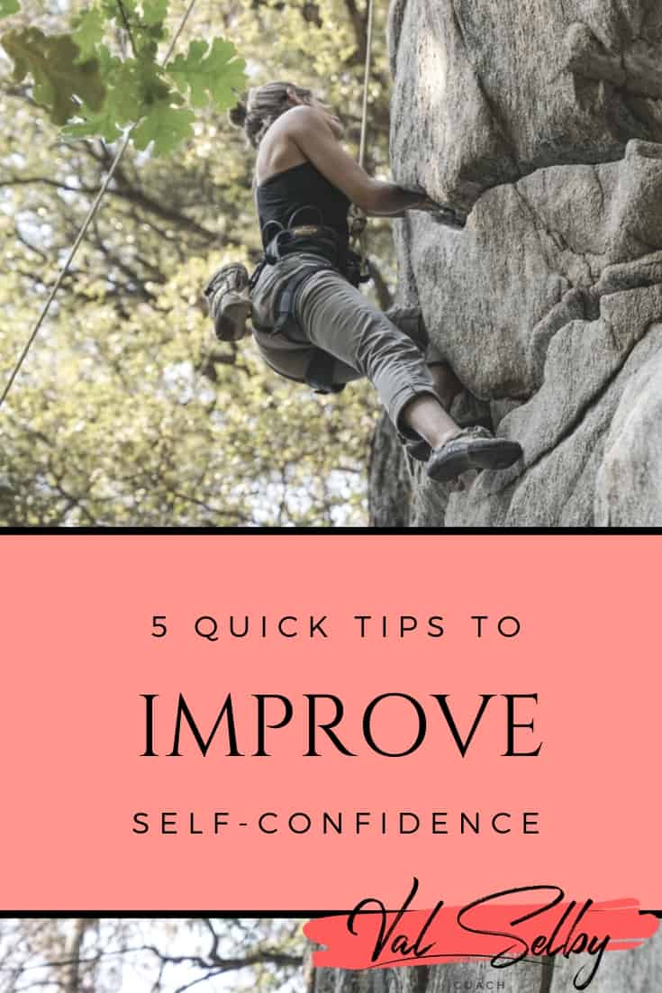 5 quick tips improve self-confidence