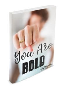 you are bold ebook journal workbook