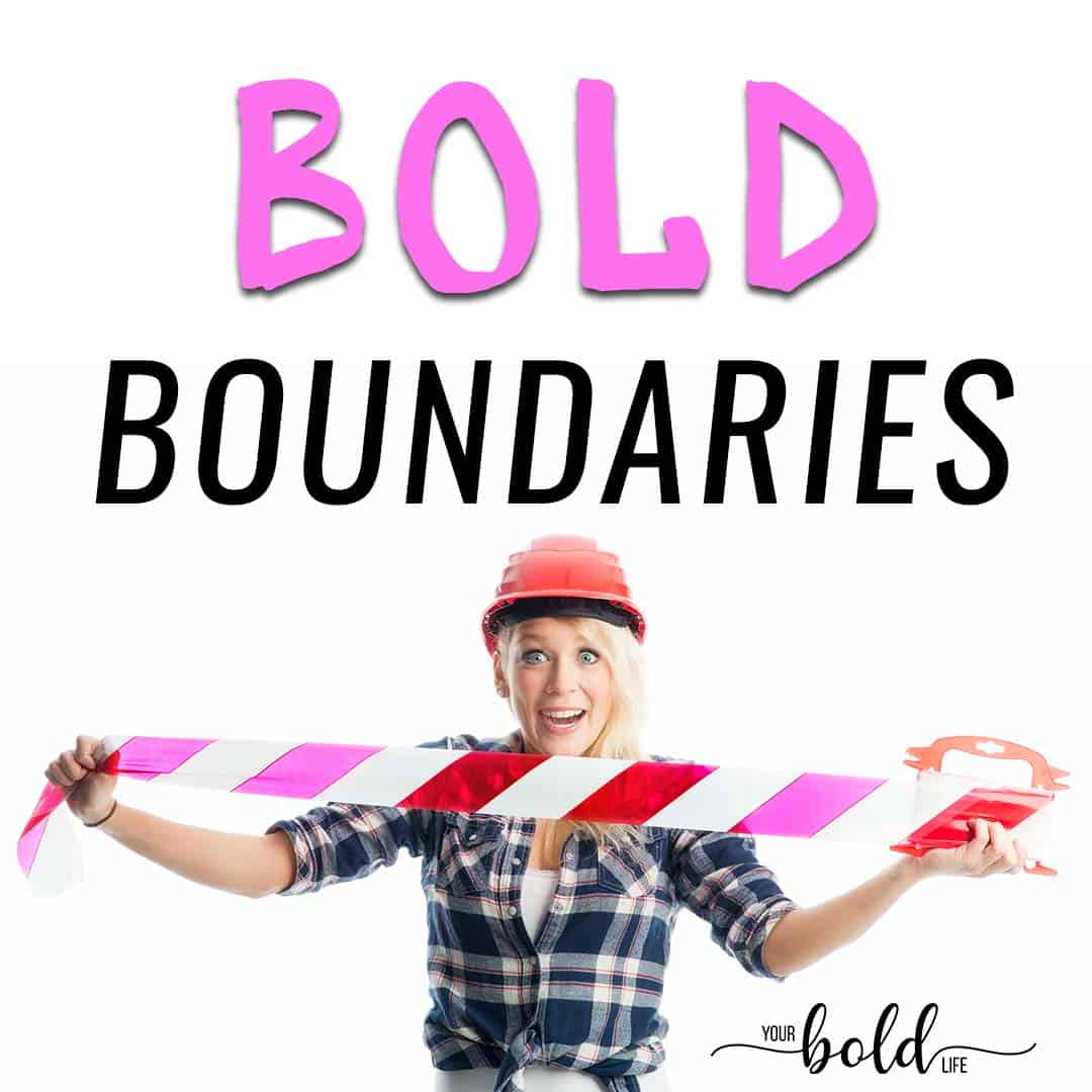 bold boundaries workshop