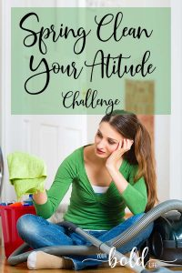 spring clean your attitude challenge
