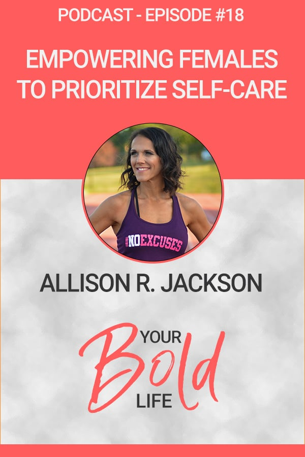 Empowering females to prioritize self-care podcast episode