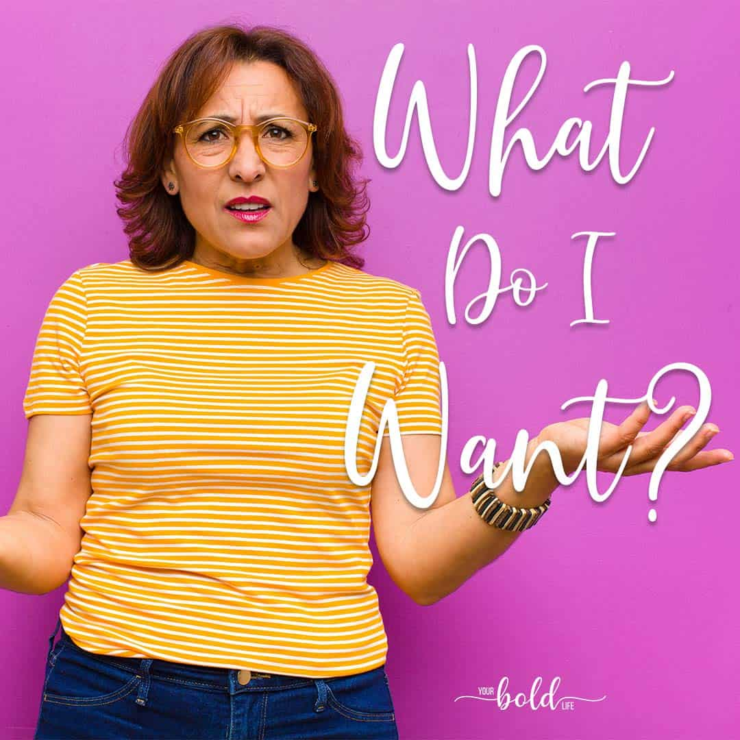 what do i want workshop