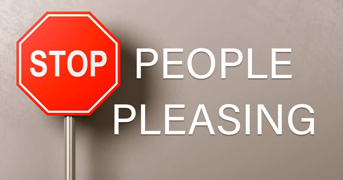 stop people pleasing workshop