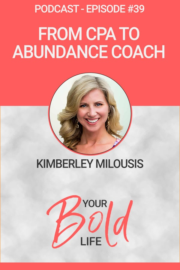Kimberley Milousis abundance coach