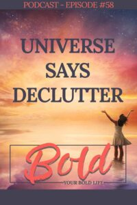 signs to declutter your life